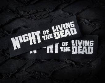 Night of the Living Dead Horror Punk Patch