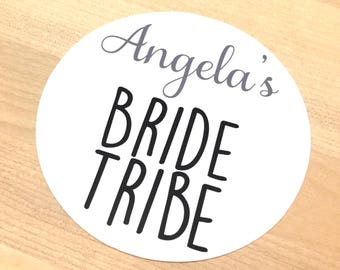 Bride Tribe Stickers hens night ideas bride tribe decals hens night supplies bachelorette party sticker for bride tribe tank top hens do