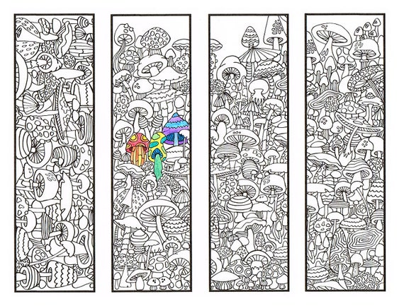 coloring pages of bookmarks - photo#8