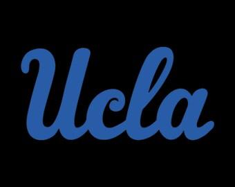 UCLA Vinyl Logo
