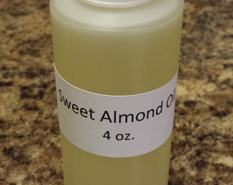 Sweet Almond Oil 4 oz.