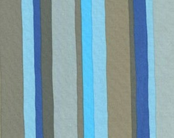 Valori Wells Olive Rose Stripe 100% Cotton Westminster Fabric Blue VW12 All fabrics shipped via PRIORITY MAIL.