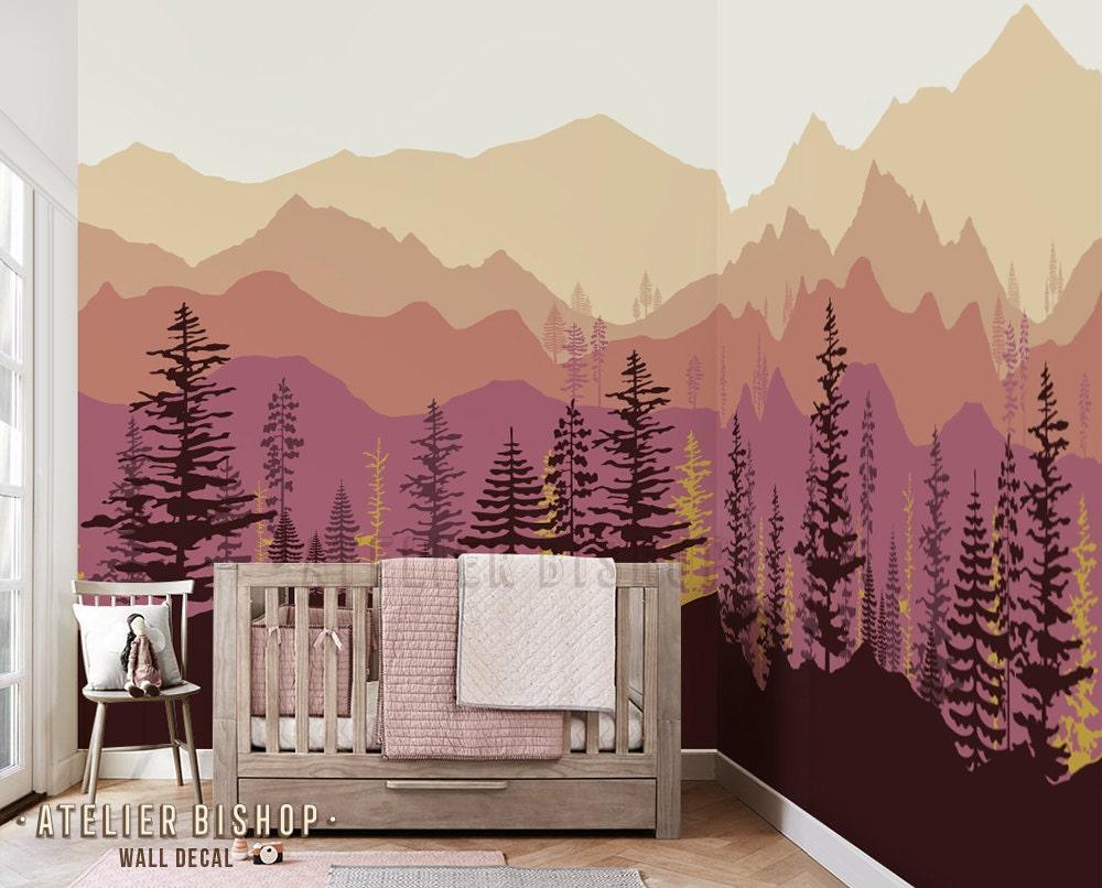 Top Wallpaper Mountain Mural - il_fullxfull  Snapshot_727083.jpg?version\u003d0
