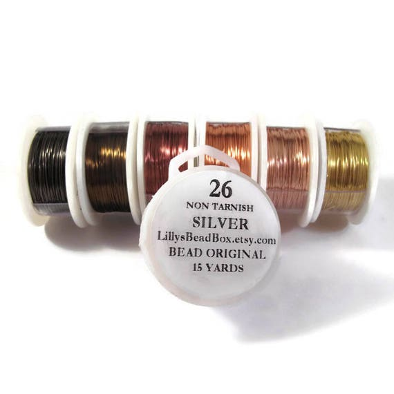 26 Gauge Wire For Making Jewelry Non Tarnish Wire Wire