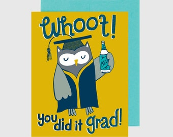 Congratulations Card - Graduation - Whoot