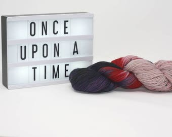 Once Upon a Time - Hand Dyed Sock Yarn