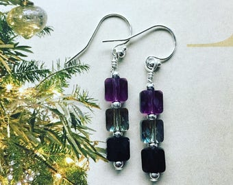 Swarovski Crystal Drop Earrings. Handmade Jewelry. Swarovski Crystals. Classic Earrings.