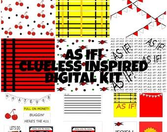 As If! Digital Kit