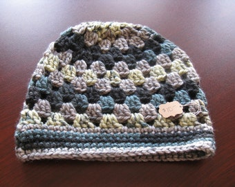 Multi-colored Adult Winter Hat
