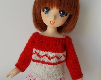 Handmade sweater available for any kind of dolls (momoko, barbie, fashion royalty, pullip, blythe, bjd...)