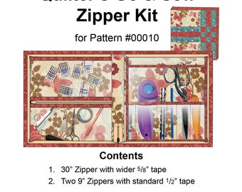 Quilter's Go & Sew Zipper Kit