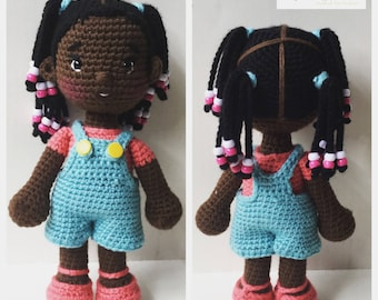 Amigurumi Boy Doll Pattern : Crochet doll pattern etsy