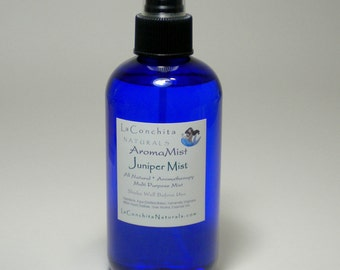 Natural Juniper Spray - Unisex, Multi-Use Aroma Mist - Deodorizing Body Spray, EcoFriendly with Pure Essential Oils - On Sale