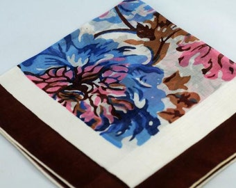 Vintage Hankie  Frame Sew Quilt Gift  B-64