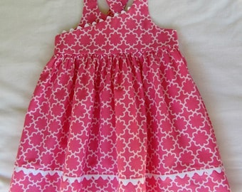 Little Girl Dress,Baby Girl Dress, Girls Clothing,Toddler Dress, Childs Dress, Party Dress, Summer Dress, Pink Dress
