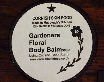 Gardeners Floral Balm 50ml