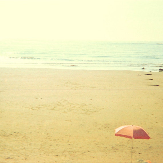 Sandy Beach: Ocean Photography Honey Gold Sandy Beach Sand Castles