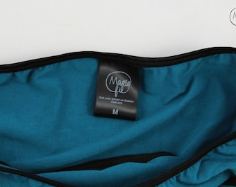 1 period blue panties with protect integrated underside - panties for rules - underwear for menstruation - zero waste