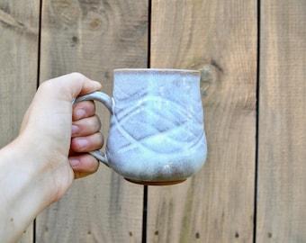 Carved Shiny Bone Mug