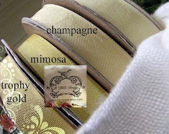 Rayon Seam Binding Ribbon Champagne