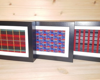 Genuine Routemaster Moquette Frame, (London Bus) NOT A PRINT of the pattern