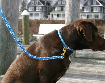 Nautical Dog Collars w/ free shipping