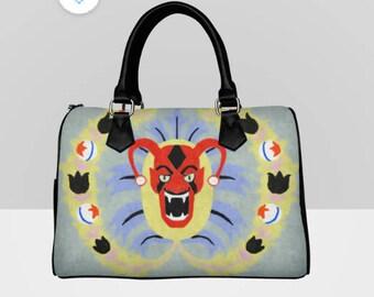 AHS Freakshow inspired Barrel Style Handbag