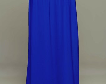 Royal Saree Petticoat - Drawstring Pull-On Maxi-Skirt