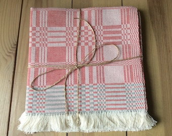 NEW! Set of 4 hand woven linen placemats