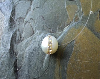 Ghostly Pearl with Zircon / ghost of Pearl with Zircon