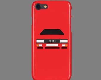 Audi Quattro Customisable Phone Case