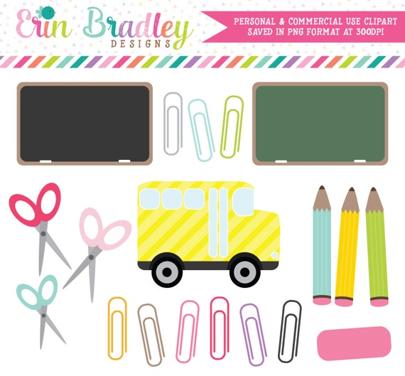 school days clipart clip art for personal and commercial use rh etsy com school picture day clipart no school day clipart