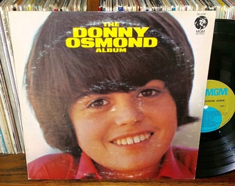 The Donny Osmond Album Vintage Vinyl Record