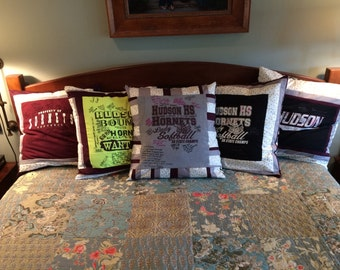 T-shirt memory pillow