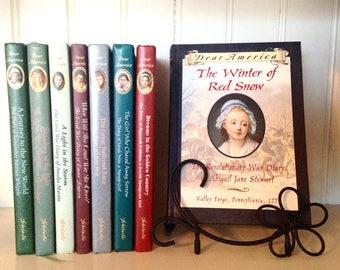 SALE! 8 Books! Dear America Books, Dear America Diaries, 8 Volumes, Scholastic Series,