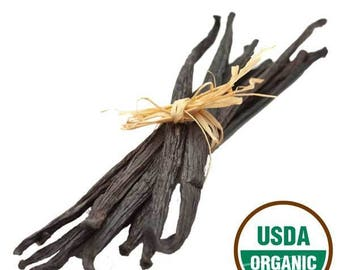 Madagascar Vanilla - Grade A Premium Vanilla Bean - Whole Vanilla Beans - Cooking Gift - bourbon vanilla - whole vanilla pods -Gift for Chef