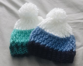 CLEARANCE // Baby/Toddler Beanie (For Ages 0-12 months)