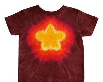 Tie Dye Golden Star T-Shirt