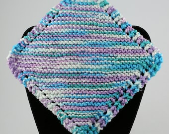 Knitted Dishcloth, Cotton Dishcloth, Colorful Dishcloth, Pack of Dishcloths, Handmade Dishcloths