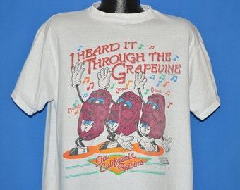 80s California Raisins Through The Grapevine t-shirt Extra Large