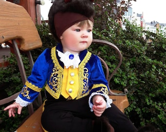 Beast costume for baby Newborn suit disney Beauty and the Beast Halloween costume cute photo prop little boy outfit first birthday
