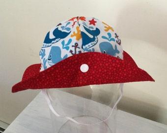 Baby Sun Hat Visor Cap - 0 - 6 Months -