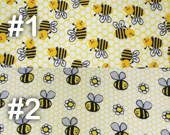 """Bumble Bee Honeycomb Extra Large Receiving Blanket - 36"""" x 42"""""""