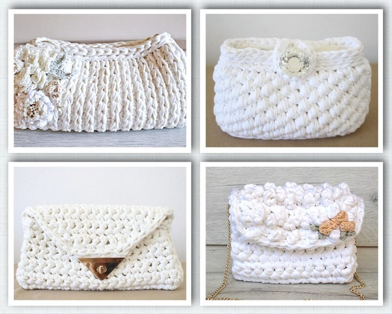 Wedding Pattern Bundle Wedding Gift Crochet Bag Pattern