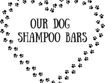 Dog Shampoo Bar - Vegan Friendly - Animal Cruelty Free - No Harmful Chemicals - Soap For Dogs 105g +