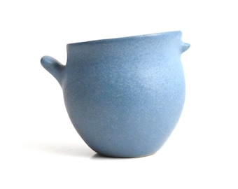 Mid Century Modern Bennington Pottery David Gil Blue Bird of Happiness Creamer re-issue
