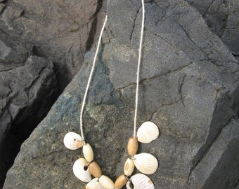 Assorted Seashell Statement Necklace