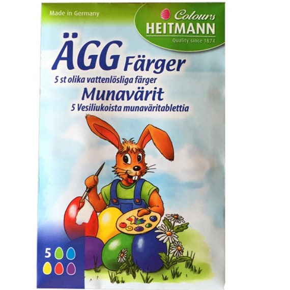Easter Egg Dye Made In Germany Imported From Sweden