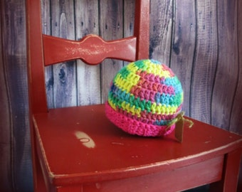 READY TO SHIP-Crochet hat, baby, light hat, colorful hat, knitting, baby gift, baby shower gift, gift idea, hand made, ready to ship