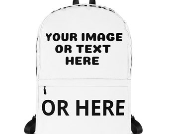 Customized / Personalized Backpack